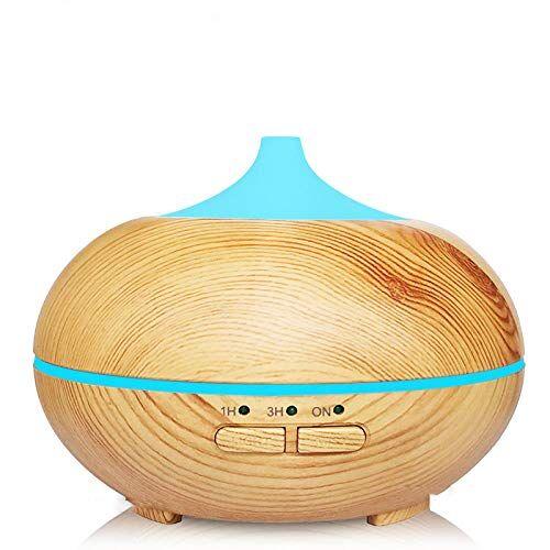 VGFTP umidificatore a ultrasuoni, diffusore di aromi, aromaterapia, diffusore di olio essenziale, luci a LED, modalità nebbia, silenzioso per ufficio, 150 ml