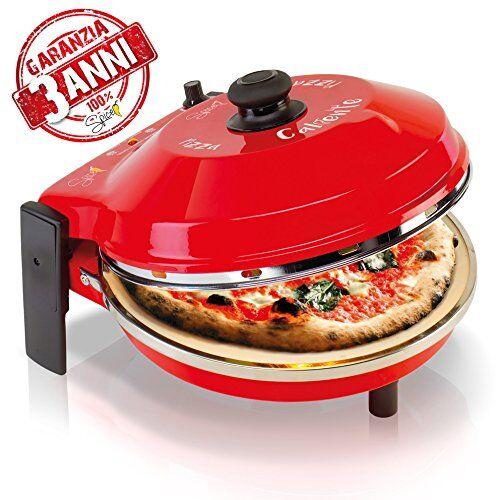 SPICE - CALIENTE - 3 ANNI di GARANZIA - Forno Pizza oltre 400 gradi resistenza circolare 1200 W