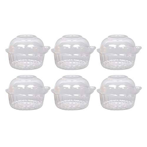 hemoton trasportino per torte focaccina tondo per focaccina tondo da 50 pezzi monouso trasparente
