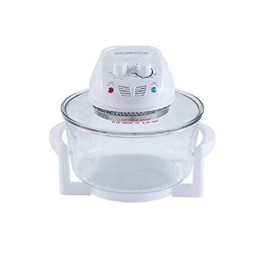 luckygby 12l friggitrice ad aria senza olio lavabile per una cottura veloce,6 in 1 fornetto per cibi sani poco olio e grassi spegnimento automatico senza bpa