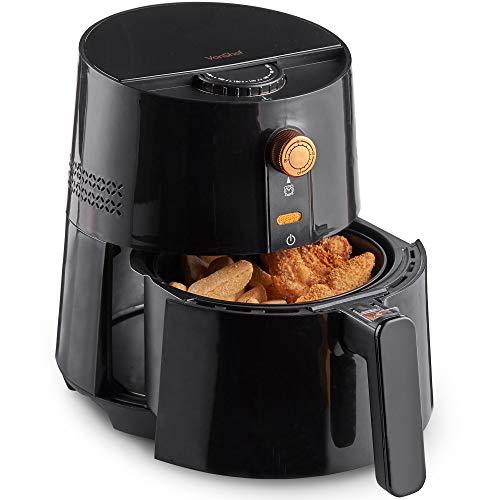 vonshef friggitrice ad aria senza olio 2,5l - cucina sana con pochi grassi, frittura senza olio in alternativa alla frittura con immersione nell'olio, controllo della temperatura regolabile