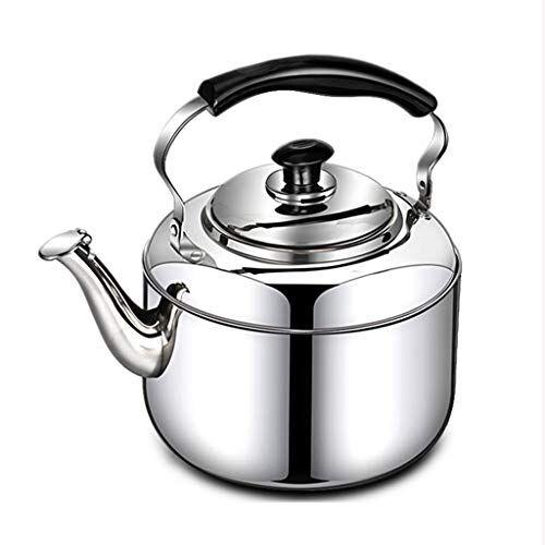 Bollitore elettrico automatico di fischio del gas del fornello di induzione dell'acciaio inossidabile 304 della cucina della casa del bollitore 6L XIN
