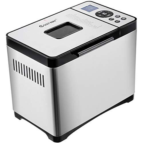 dreamade macchina per pane con 19 programmi automatici macchina del pane in acciaio inossidabile