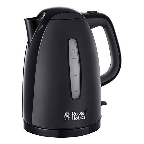 Russell Hobbs 21271 Bollitore Textures , 1.7 L, 3000 W - Black