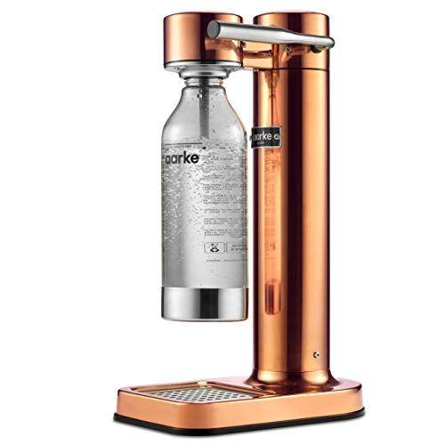 Aarke Carbonator II Gasatore d'Acqua, Acciaio, Copper
