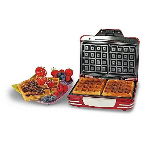 Ariete 187 Waffle Maker Party Time Macchina per Waffle Colore Rosso
