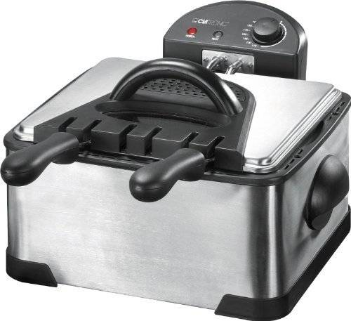 Clatronic FR 3195 Double Deep Fat Fryer by Clatronic