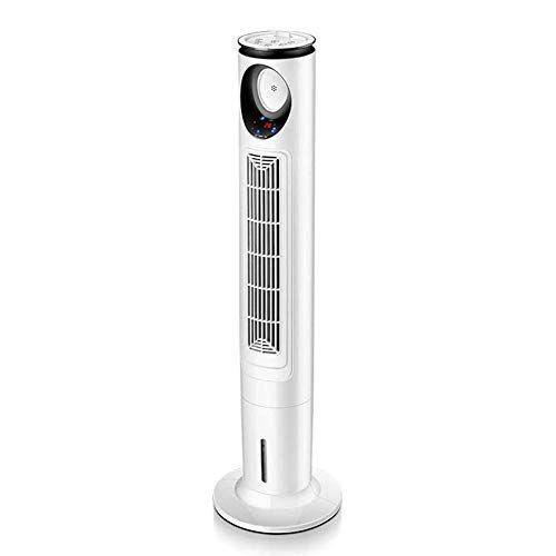 YJF-JK Fan della torre della famiglia, Circolatore d'aria senza foglie con serbatoio dell'acqua, Dispone di 3 velocit pi silenziose, controllo remoto per interni, camere da letto e home office