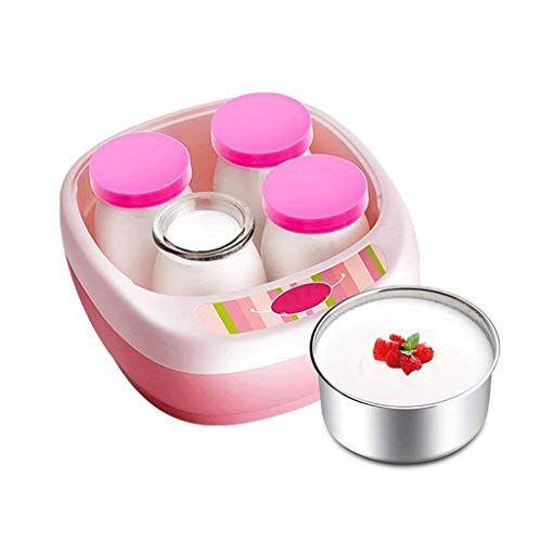 ecswp yogurt macchina vita diario del yogurt della casa della macchina automatica fatta in casa mini yogurt fermentazione macchina di vetro tazza di yogurt