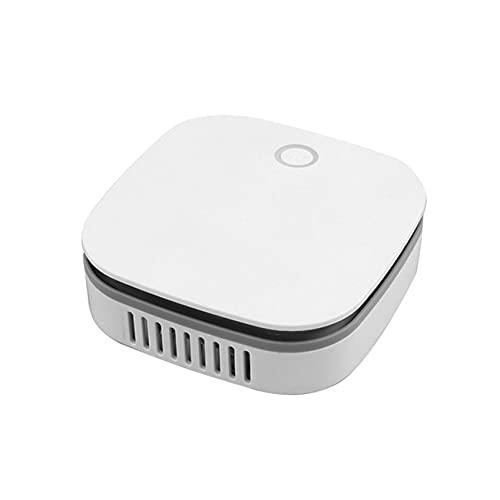bozmi mini purificatore d'aria industriale o3, generatore di ozono portatile filtro dell'aria per la casa filtri aria eliminatori di odori con ricarica usb per frigorifero per auto / scarpiera