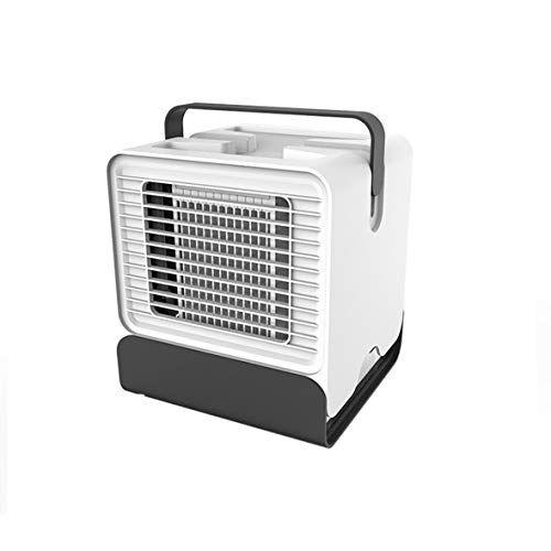 migvela mini portatile usb condizionatore d'aria umidificatore purificatore luce ventilatore da tavolo desktop ventilatore per aria di casa - bianco