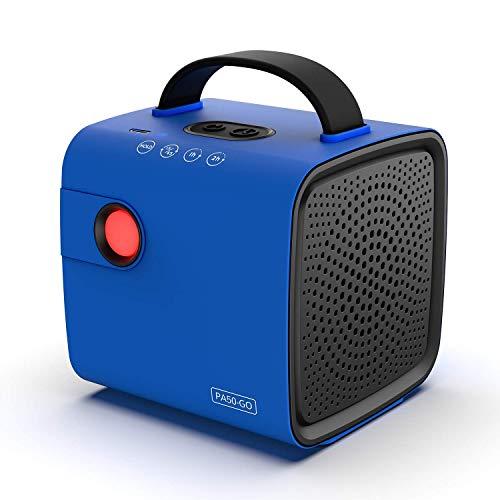airthereal pa50-go generatore di ozono a batteria per auto, viaggi, scarpiera e altri piccoli spazi blu