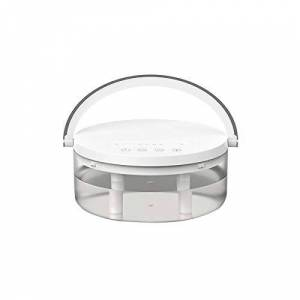 ZZYJYALG Umidificatore d'aria Plastica Grande Capacit Portatile Mini Night Light Light Lampada Dual Ugello USB Personal Desktop Diffusore Spazio-Risparmio Evaporatore Auto Camera da letto per ufficio