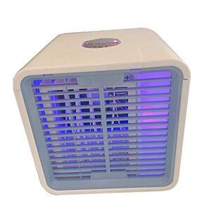 Little Poor Climatizzatore mobile, Raffreddatore d'aria portatile con umidificazione e pulizia dell'aria, Display LCD, Funzione di raffreddamento della temporizzazione, Ventilatore da tavolo per auto da ufficio