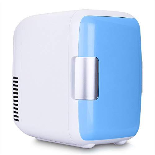 JXJ Portatile mini frigo-4l 12v dispositivo di raffreddamento e riscaldamento frigorifero riscaldamento cibo elettrico mini frigo per casa, ufficio, auto