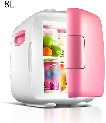 tiah mini frigo raffreddamento & scaldino  8l capacità  compatto, portatile e silenzioso