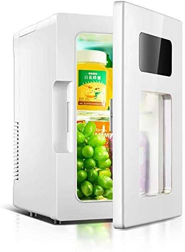 tiah mini frigo raffreddamento & scaldino  capacità  compatto, portatile e silenzioso, mini small office home