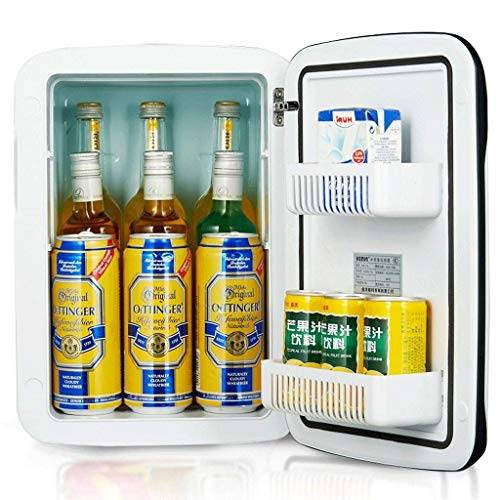 tiah mini frigo più fredda e più  compatto, portatile, tranquillo  (bianca)