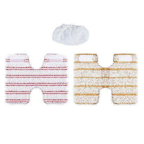 Polti - mod. PAEU0319-Kit di panni per pulizia e fodera di protezione per il pulitore a vapore Vaporetto mod. Lecoaspira