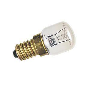 home parts ltd 2 lampadine da 15 w ses e14 per macchina da cucire, per frigorifero, congelatore.