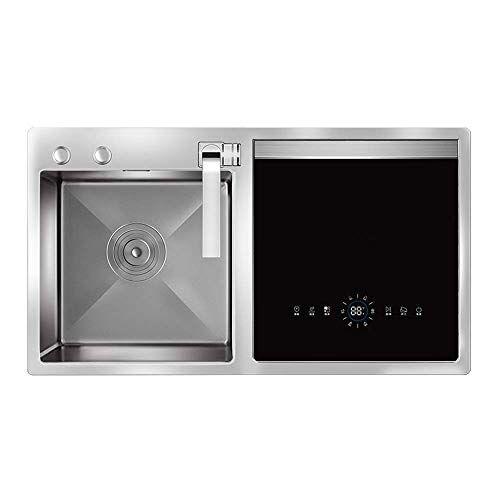 kyman lavastoviglie lavastoviglie portatile lavastoviglie da incasso sink lavastoviglie 1900w doppio strato ad alta temperatura di sterilizzazione ed asciugatura 5large programma kyman