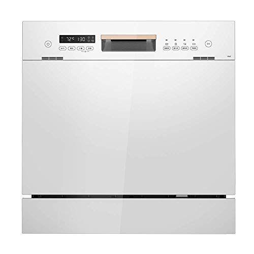 kyman lavastoviglie lavastoviglie portatile lavastoviglie da incasso 1380w di potenza ad alta capacit possibile inserire 8 serie di articoli for la tavola 8 ingranaggi di regolazione 99,99% tasso di steril