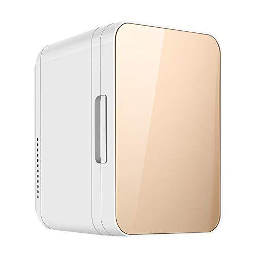 guoziya mini frigo da 8 litri frigorifero portatile for auto, scatola fredda elettrica portatile calda fredda, mini frigorifero dc12 / ac220 v scatola fredda (colore : orange)