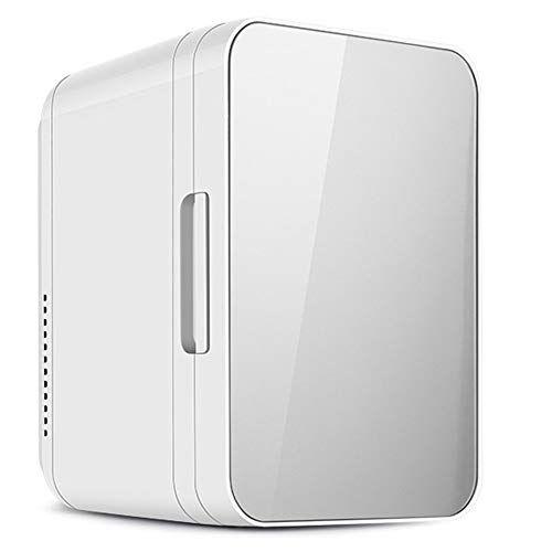 guoziya mini frigo da 8 litri frigorifero portatile for auto, scatola fredda elettrica portatile calda fredda, mini frigorifero dc12 / ac220 v scatola fredda (colore : silver)