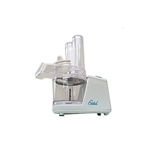 GrecoShop Mini Robot da cucina/Grattugia/Trituratore/Tritura verdure elettrico 65W Imetec -Essential