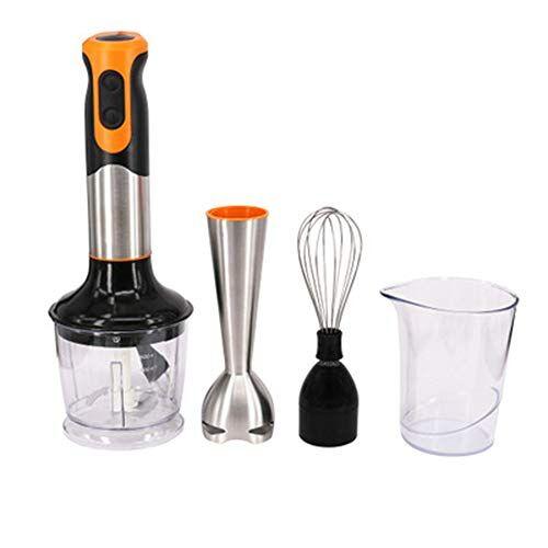 soyyd frullatore ad immersione, multifunzione, 2 velocità, mixer cucina da, frusta elettrica, tritatutto da cucina elettrico, 2 lama in acciao inox, frullatore per frullato alimenti