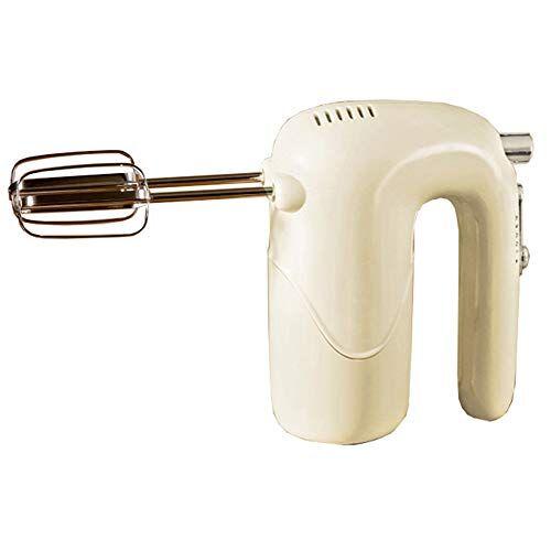 whoja sbattitore elettrico 5 marce frullatore frullino per alimenti mini egg cream agitatore per torte da cucina montalatte crema (color : beige)