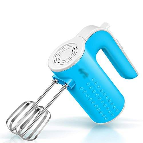 aquila sbattitore elettrico a mano con 3 velocit ultra miscela di potenza, 2 guarnizioni in acciaio inox, sbattitore compatto e leggero, perfetto per un uso accogliente (colore: bianco) aquila1125 blu