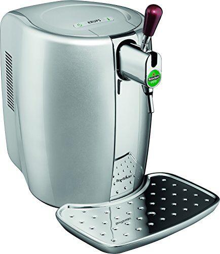 Krups VB320E10 BeerTender - Spillatore di birra in materiale termoplastico, colore: argento
