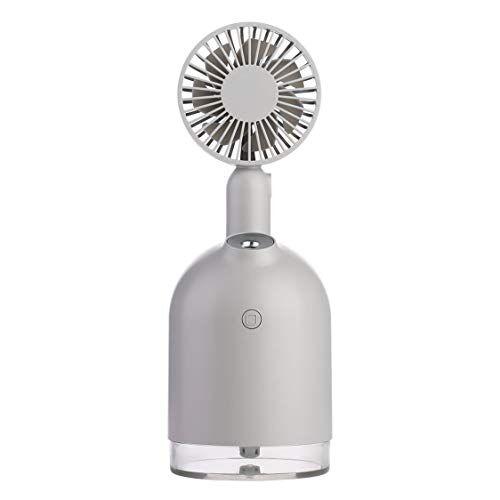 Vige Ventilatore Per Umidificatore Due In Uno Spray Per Idratazione Dell'Aria Home Tranquillo Ventilatore Pieghevole Portatile Umidificazione Moda - Grigio
