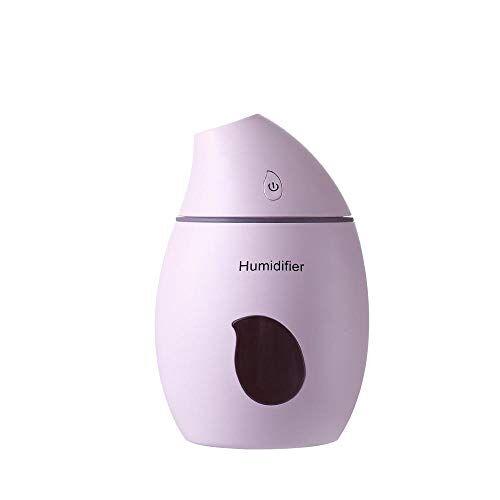 HDFIER umidificatore ambiente bambini a freddo Diffusore Aromi Diffusore a Ultrasuoni Aromaterapia Terapie Creativo colorato notturno rosa chiaro
