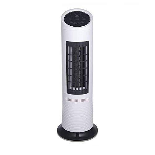 BHDesign Ventilatore a torre per controllo remoto 4 in 1, 3 velocit del vento, vento forte, con 750W di potenza, 15 ore di temporizzazione, purificazione dell'umidificazione per camera da letto del soggiorno,
