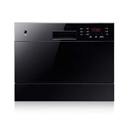 atten mini lavastoviglie impostazioni compatte del controsoffitto 6 luogo portatile lavastoviglie da incasso for small appartamento home cucina, risparmio energetico, bianco