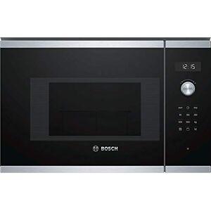 Bosch Serie 6 BEL524MS0 Incasso Microonde con grill 20L 800W Nero, Acciaio inossidabile forno a microonde