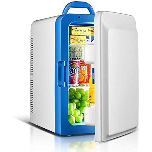 thwjsh mini frigo20 litri portatile ac/dc alimentato dispositivo di raffreddamento e riscaldamentoper auto, viaggi, casa, ufficio e dormitori