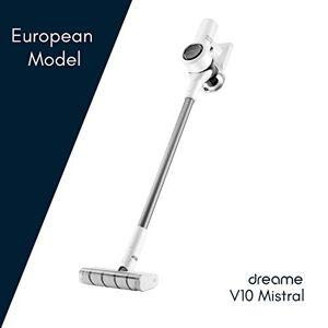 Dreame V10 Mistral - Aspirapolvere senza fili, Modello europeo, Tecnologia riduzione del rumore, 100.000 RPM, 60 minuti di autonomia