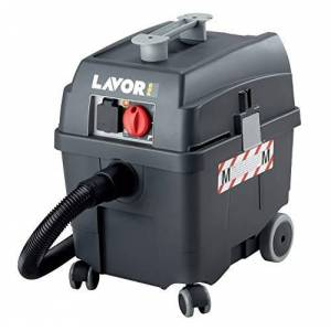Lavor 0.052.0019 0019-Aspirador - Profesionale di polvo y líquido Pro Worker EM 1200/1400 W 70 L/s 24/2400 Vacío kPa/mmH2O depósito 30 lt