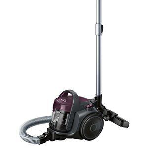 Bosch BGC05AAA1 Aspirapolvere a Carrello Senza Sacco, 700 W, 1.5 Litri, 78 Decibel, Plastica, Viola / grigio