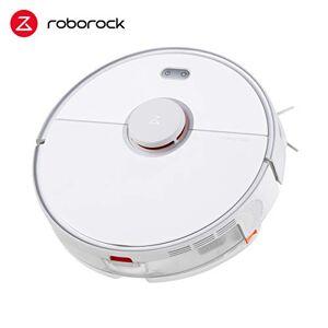 roborock S5 Max - Robot aspirapolvere (aspiratore, Scopa, Funzione lavapavimenti, sensori LDS, Controllo App), Bianco S5max