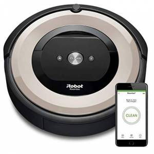 Irobot Roomba e5152 Robot Aspirapolvere, Acciaio, Nero, Copper Colour