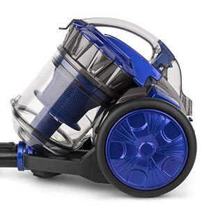 WASY WS14 Aspirapolvere a Traino AAAA Senza Sacco, 900 W, 2 Litri, 78 Decibel, Plastica, Blu e Grigio