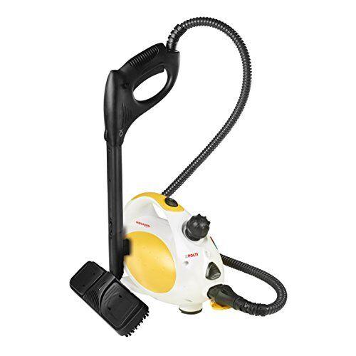 Polti Vaporetto Handy 15 Pulitore A Vapore con Tracolla, 3 Bar, 1500 W, 0.75 Litri, 0 Decibel, Acciaio Inossidabile, White