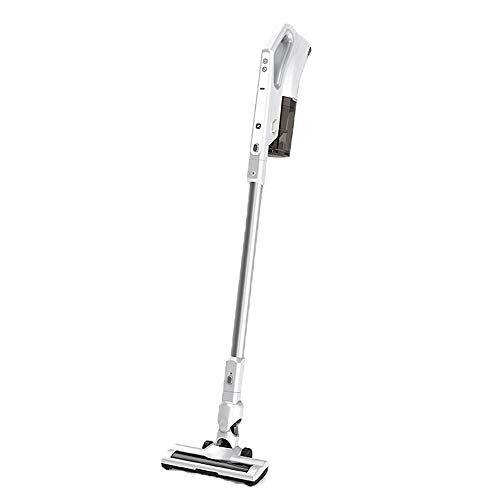 lwjh aspirapolvere senza fili, aspirapolvere verticale, 150 w, ricaricabile, piccolo, antiacaro aspirapolvere, hepa lavabile, per pavimenti duri, tappeti, tutti i tipi di pavimenti