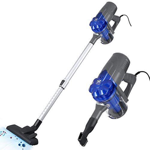 kranich aspirapolvere senza sacco verticale scopa elettrica con filo aspirapolvere ciclonico compatto leggero 600 w