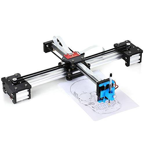 fesjoy desktop diy assembled xy plotter disegno con penna robot drawing machine painting scrittura a mano robot kit 100-240v