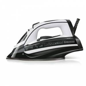 Black & Decker BXIR2802E Ferra da Stiro a Vapore, 2800 W, 370 milliliters, Plastica, Grigio Scuro